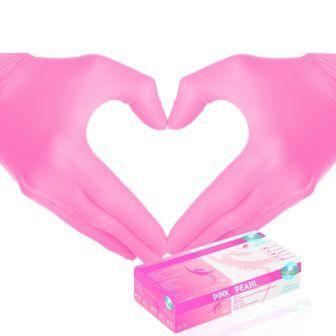 Gants Nitriles Pink