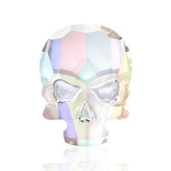 Swarovski Skull Head – CLEAR AB