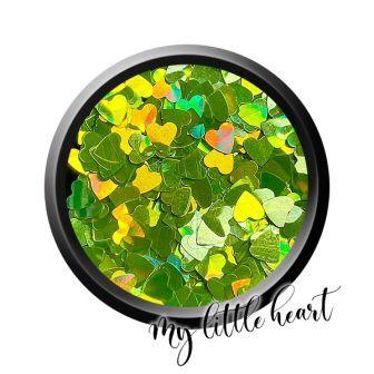 My Little Heart - PASTEL GREEN